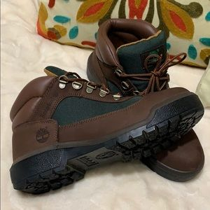 Brown Suede Timberland Field Boots